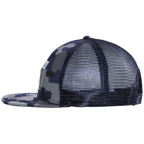 POLER Summit Mesh Trucker Cap blue steel camo